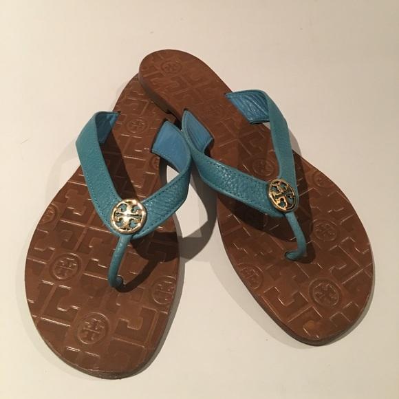 203b1bf01 Tory Burch Shoes - Tory Burch Thora Tumbled Leather Sandal